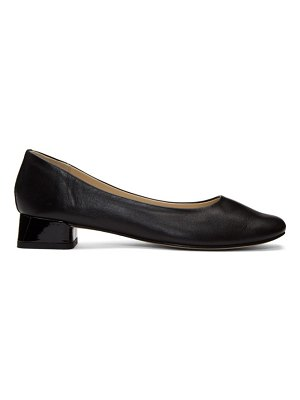Repetto black patent marlow heels