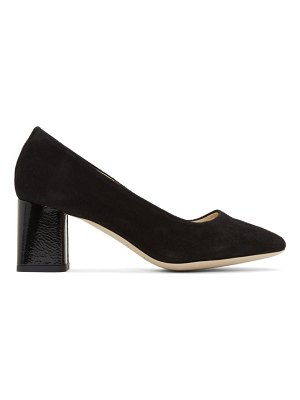 Repetto black suede marlow heels