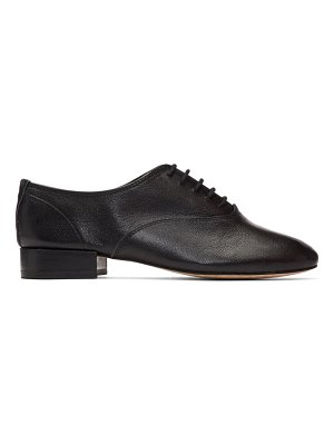 Repetto black zizi oxfords