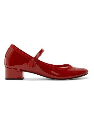 Repetto red patent mary jane 30 heels