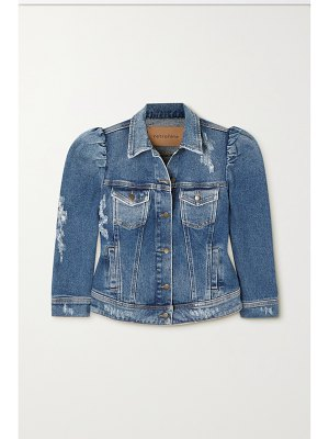 Retrofête ada distressed denim jacket