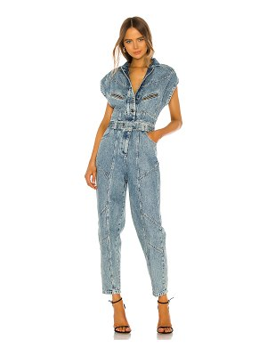retrofete alex jumpsuit. - size l (also