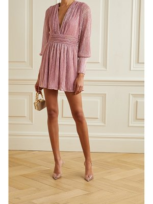 Retrofête dani lurex mini dress