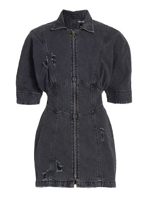 Retrofête miley zip denim dress