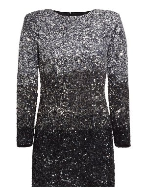 Retrofête nikki tri-tone sequin dress