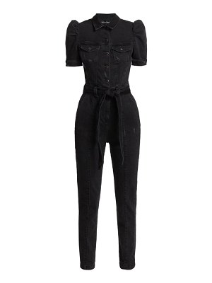 Retrofête tori puff-sleeve jumpsuit