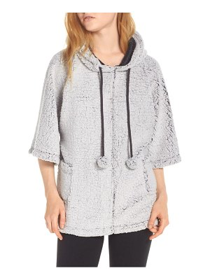 Retrospective Co. hooded fleece poncho