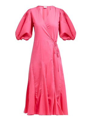 Rhode fiona cotton wrap dress