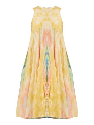 Rhode josephine sleeveless tie dye cotton midi dress