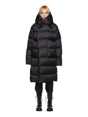 Rick Owens black down liner coat