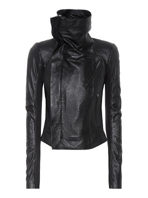 Rick Owens Classic Biker leather jacket