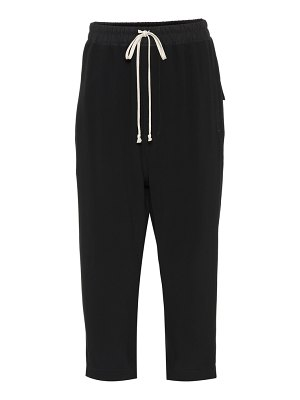 Rick Owens cropped tapered sweatpants