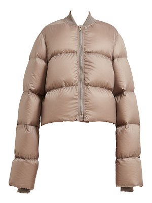 Rick Owens down-fill cropped duvet jacket