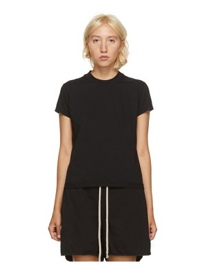 Rick Owens DRKSHDW black short level t-shirt