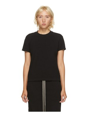 Rick Owens DRKSHDW black thermal level t-shirt