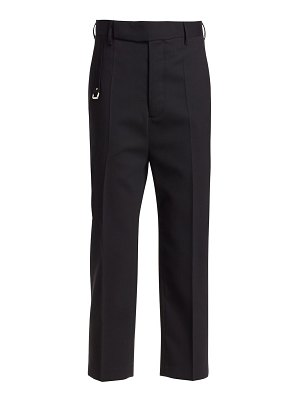 Rick Owens easy astaires cropped stretch-wool trousers