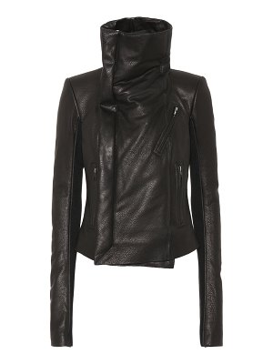 Rick Owens Forever Classic leather biker jacket