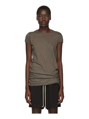 Rick Owens grey unstable jersey level t-shirt