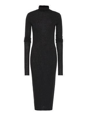 Rick Owens Lilies knit turtleneck dress