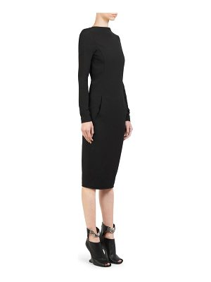Rick Owens maria stretch-grosgrain dress