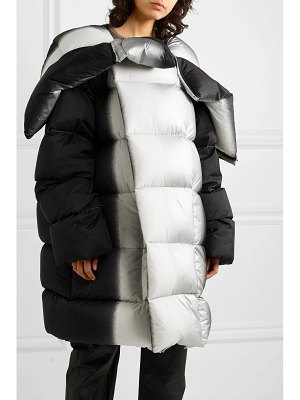 Rick Owens sisy oversized dégradé quilted shell down coat