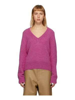 Rika Studios purple vince sweater