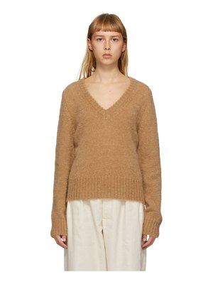 Rika Studios tan vince sweater