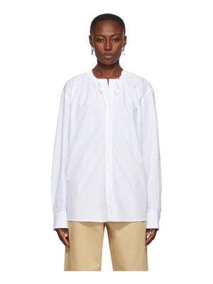 Rika Studios tatum neck ties shirt