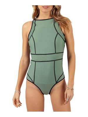 Rip Curl mirage impact reversible one-piece swimsuit
