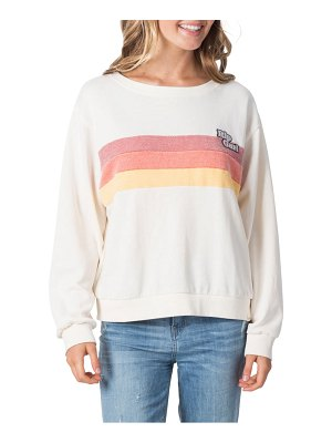 Rip Curl revival stripe sweatshirt