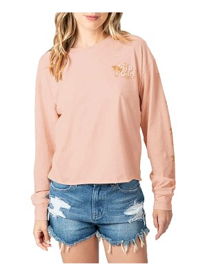 Rip Curl under the palms long sleeve graphic tee
