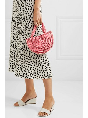 Rixo nelly two-tone beaded tote