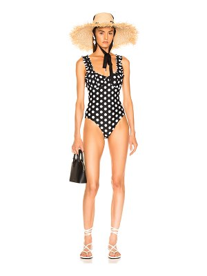 Rixo Valentina Polka Dot Swimsuit