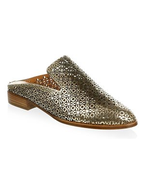 CLERGERIE asier metallic leather mules