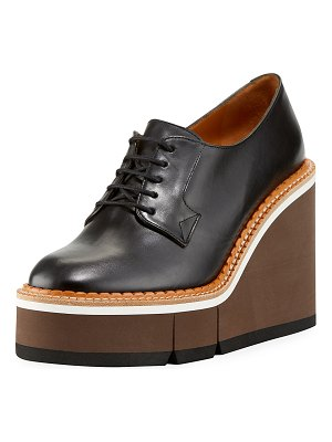 Robert Clergerie Badine Lace-Up Sneaker Oxfords