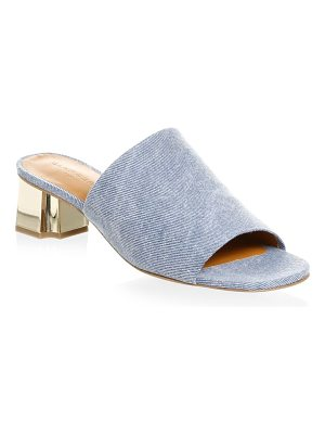 CLERGERIE lamod denim mules
