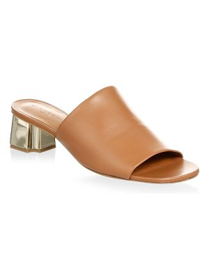 CLERGERIE lamo leather mules