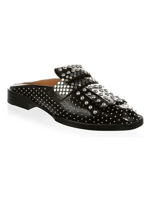 CLERGERIE youla studded leather mules
