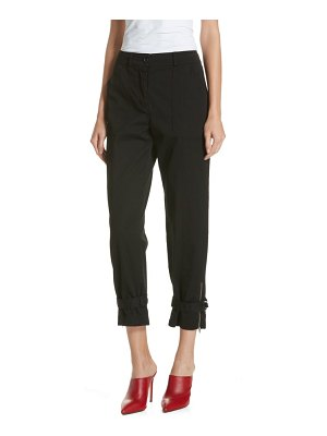 Robert Rodriguez belt cuff pants