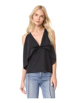 Robert Rodriguez drape detail cami top