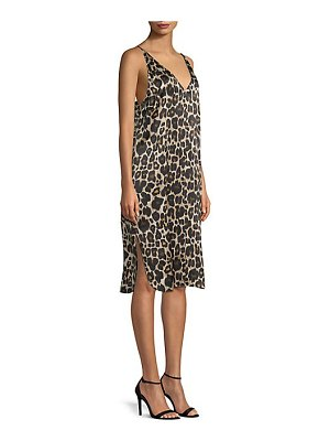 Robert Rodriguez printed slip dress