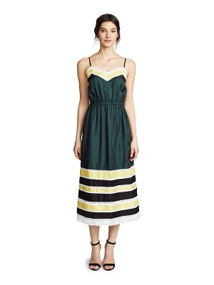 Robert Rodriguez silk slip dress