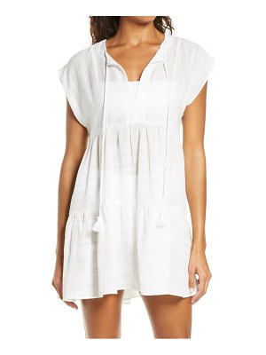 Robin Piccone michelle tiered cover-up