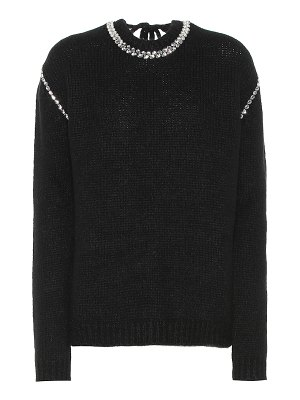 Rochas alpaca and wool-blend sweater