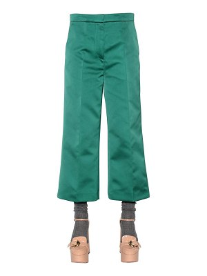 Rochas Cropped duchesse pants