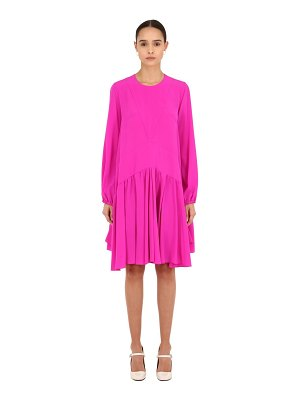 Rochas Silk crepe de chine dress