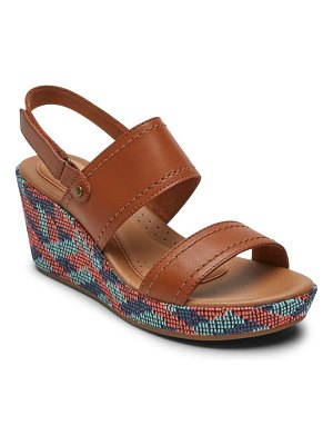 Rockport Cobb Hill erika slingback wedge sandal