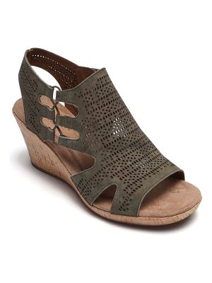 Rockport Cobb Hill janna perforated wedge sandal