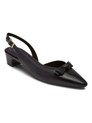 Rockport gracie bow slingback pump