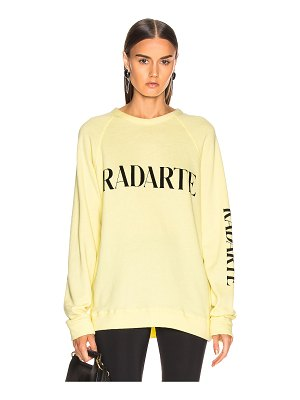 Rodarte oversize radarte los angeles sweatshirt